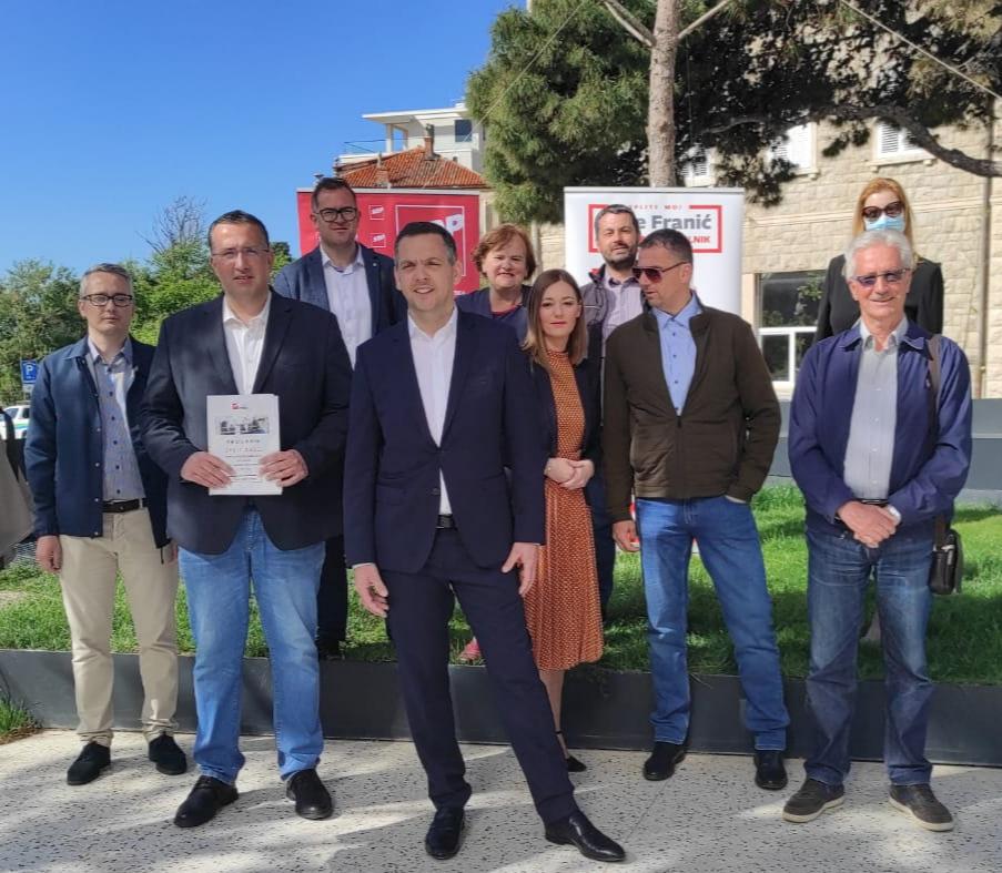 ANTE FRANIĆ: Zajedno sa svojim timom želim unijeti novu energiju u upravljanje gradom
