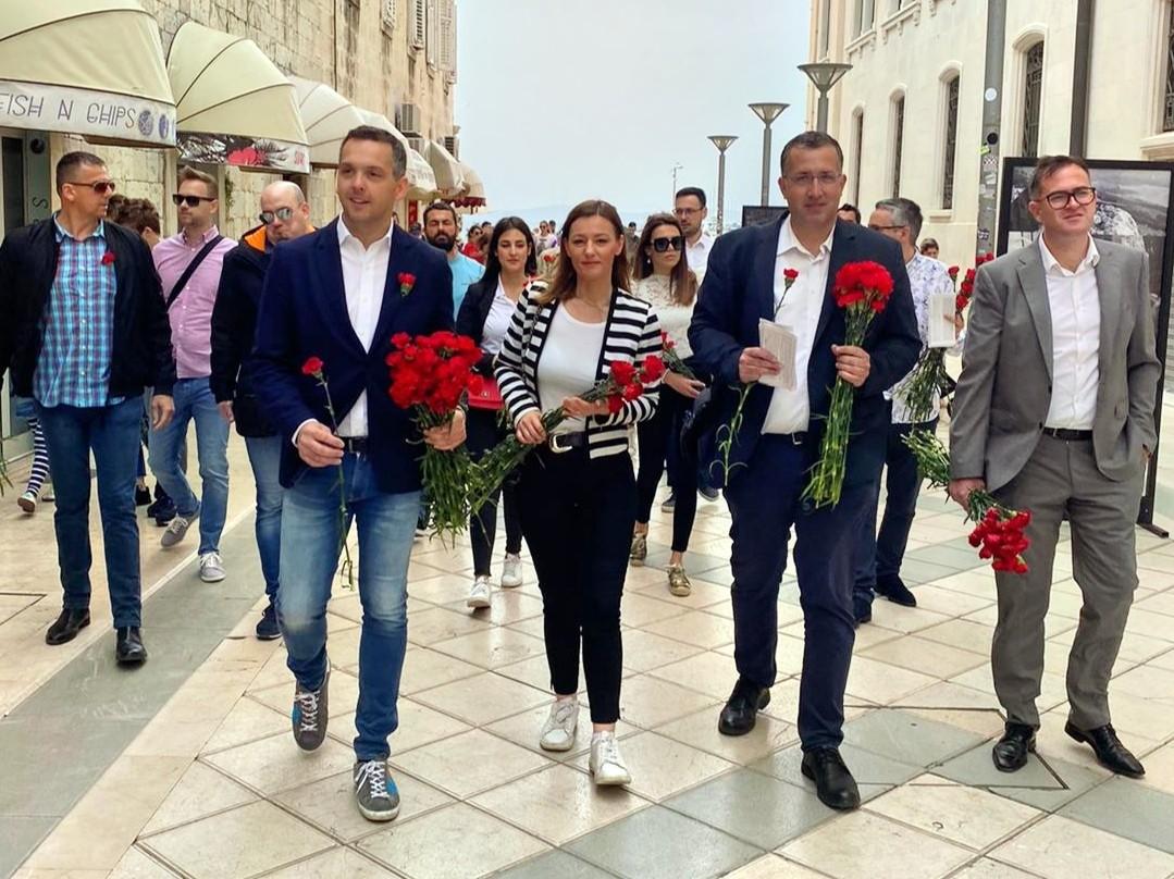 ELEONORA MANDIĆ: SDP-ova kandidatkinja za dogradonačelnicu Splita krenula u rat s 18 godina
