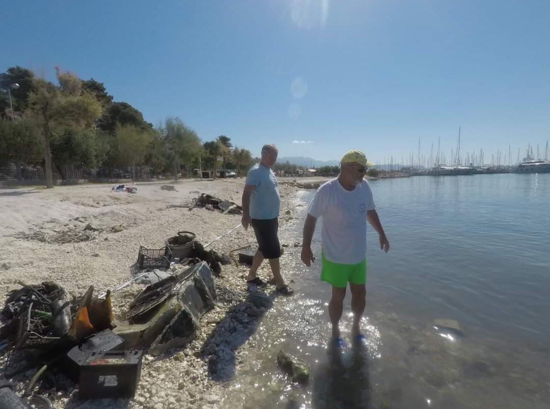 NAKON POŽARA U MARINI KAŠTELA: S morskog dna izvučeno 30 tona opasnog otpada