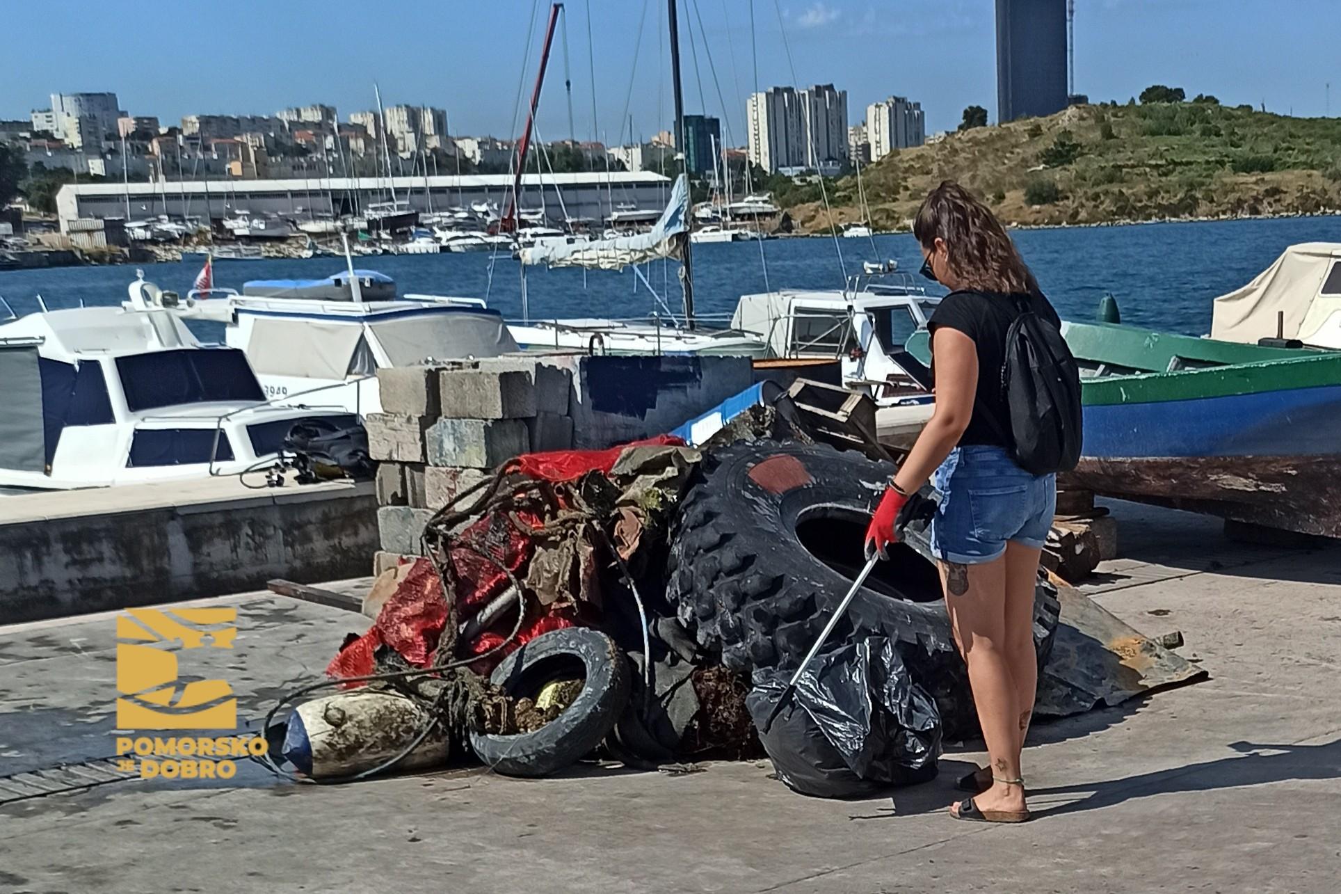VRANJIC Sudjelovali smo u akciji čišćenja mora