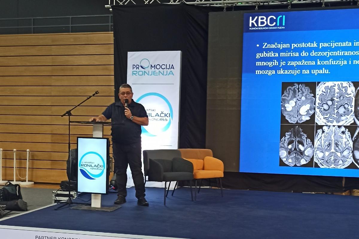 INTERVJU dr. Mario Franolić, mentor u Zavodu za podvodnu i hiperbaričnu medicinu KBC-a Rijeka