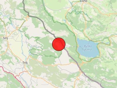 TRUSNO PODRUČJE: U Dalmaciji je od potesa najugroženiji istočni dio