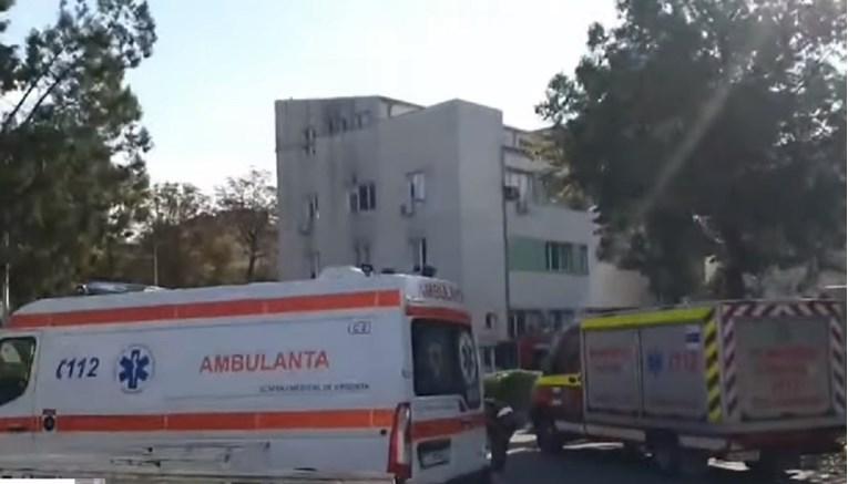 VIDEO Devet mrtvih u požaru u covid-bolnici u Rumunjskoj